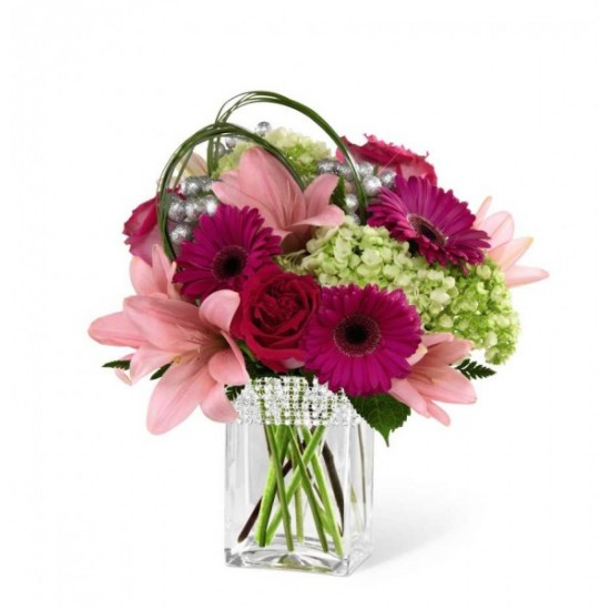 Le bouquet Blooming Bliss de FTD